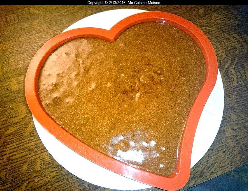 MOUSSE AU CHOCOLAT COEUR DE CUPIDON (recette maison)