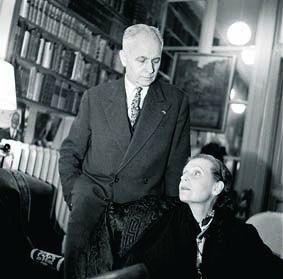 Aragon et Elsa dans les années 40