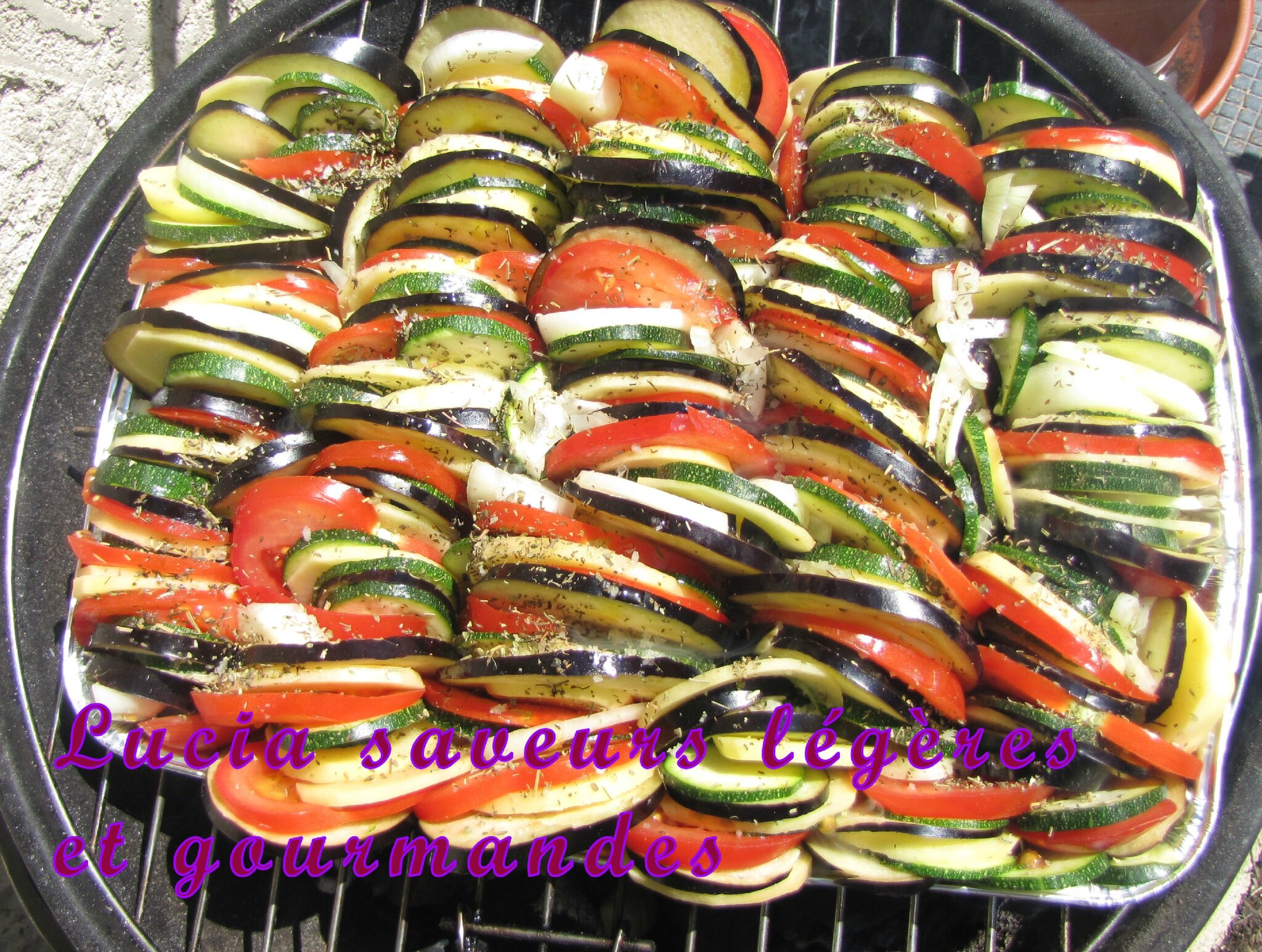 L gumes au barbecue lucia saveurs l g res et gourmandes - Courgettes grillees au barbecue ...