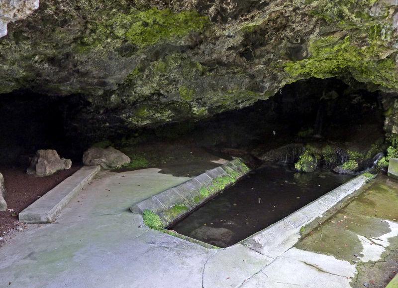 grotte des laveuses à Royat