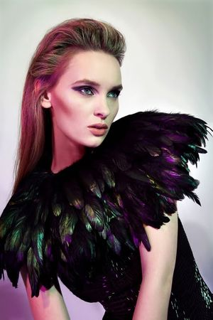 ASOS_BLACK_feather_cape_small