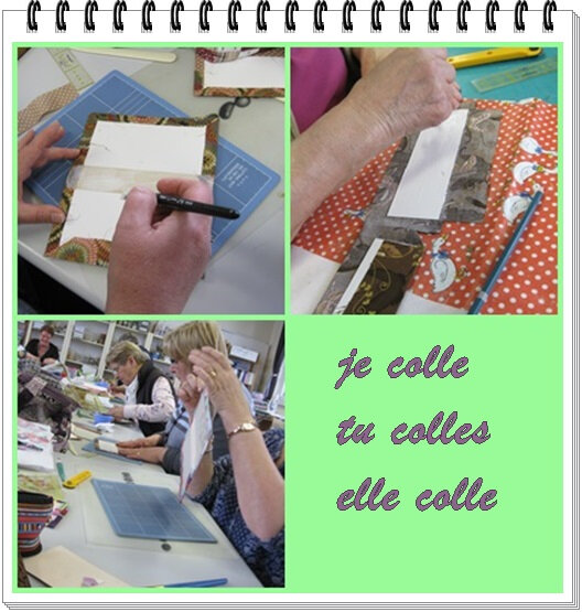 cartonnage colle