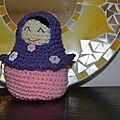 Matrioshka crochet