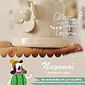 Exposition de nayanaï à strasbourg à l'atelier ceramiqu'art!