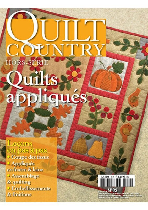 quilt country HS 23