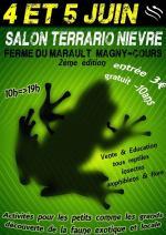Affiche Salon Terrario Nievre - Magny-cours