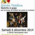 Samedi 6 decembre 2014 : place au telethon !