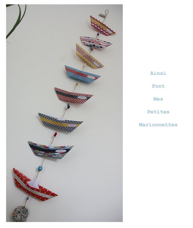 guirlande bateau origami 2