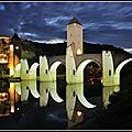 Nuit d'été au pont valentré
