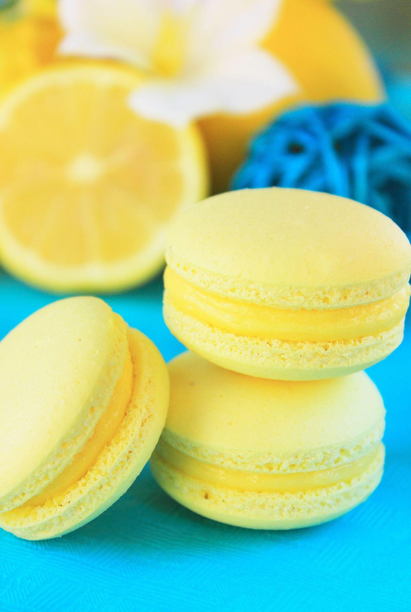 Macaron citron1