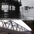 Pont arakawa ligne tozai - hier et aujourd'hui