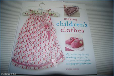 making children's clothes book cover