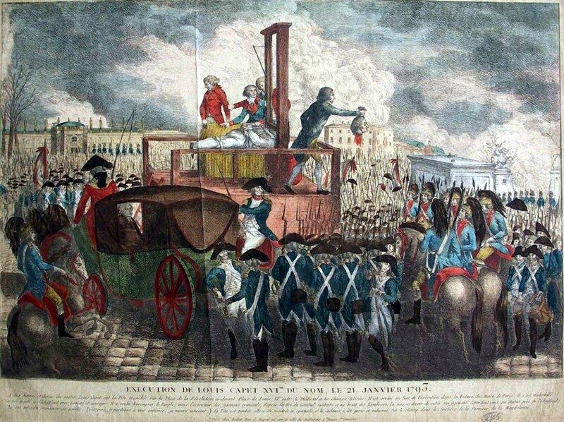 L'anniversaire de la mort de Louis XVI