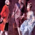 m-a avec son mari et son frère,1777