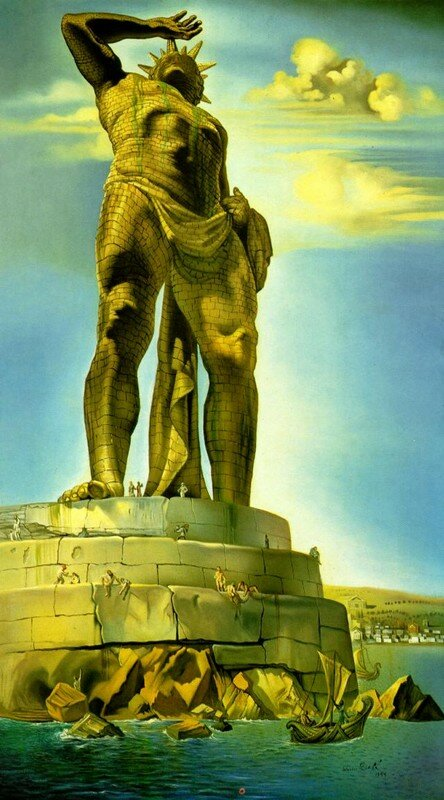 The Colossus of Rhodes, 1954.