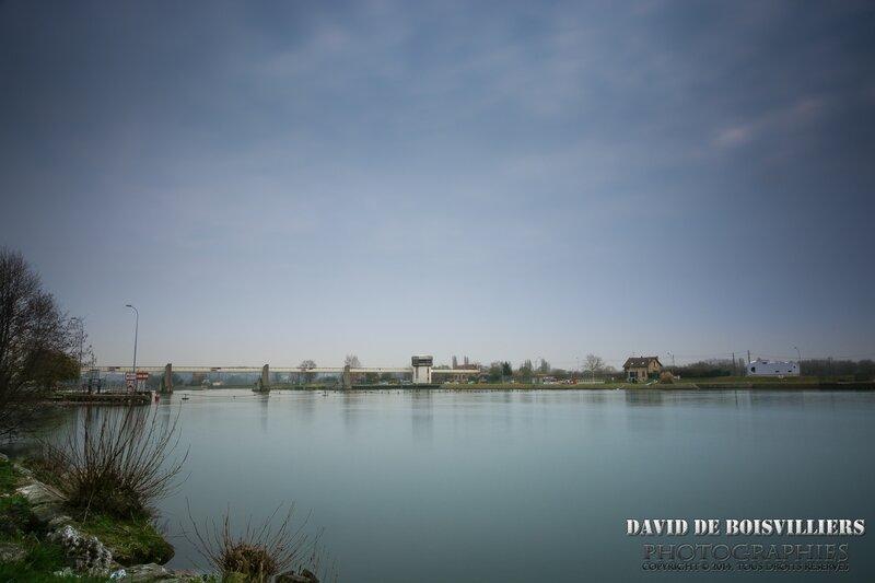 Barrage éclusé d'Ablon-sur-Seine / Athis-Mons