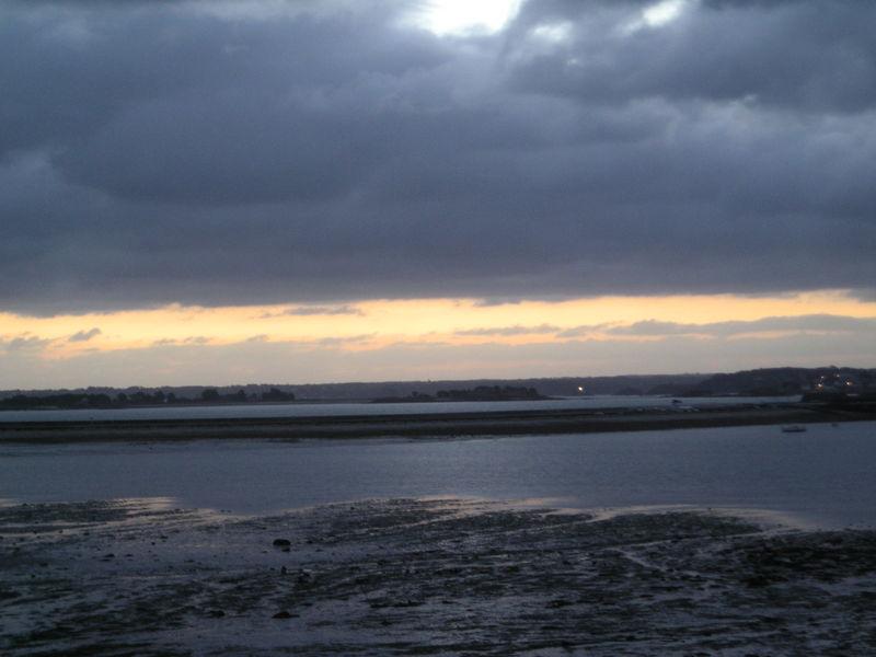 Soleil levant, marée remontante