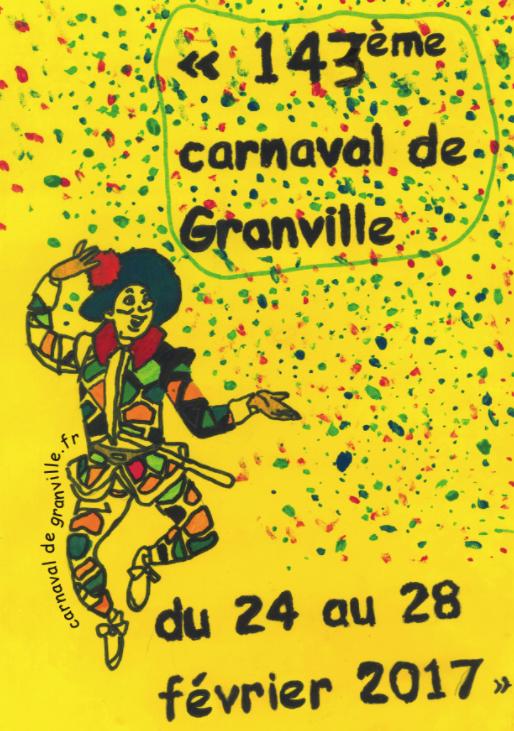 Carnaval de Granville 2017 : demandez le programme !!!