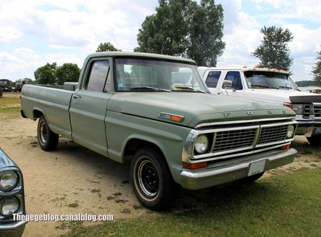 Ford F100 custom pick-up de 1970 (Retro Meus Auto Madine 2012) 01