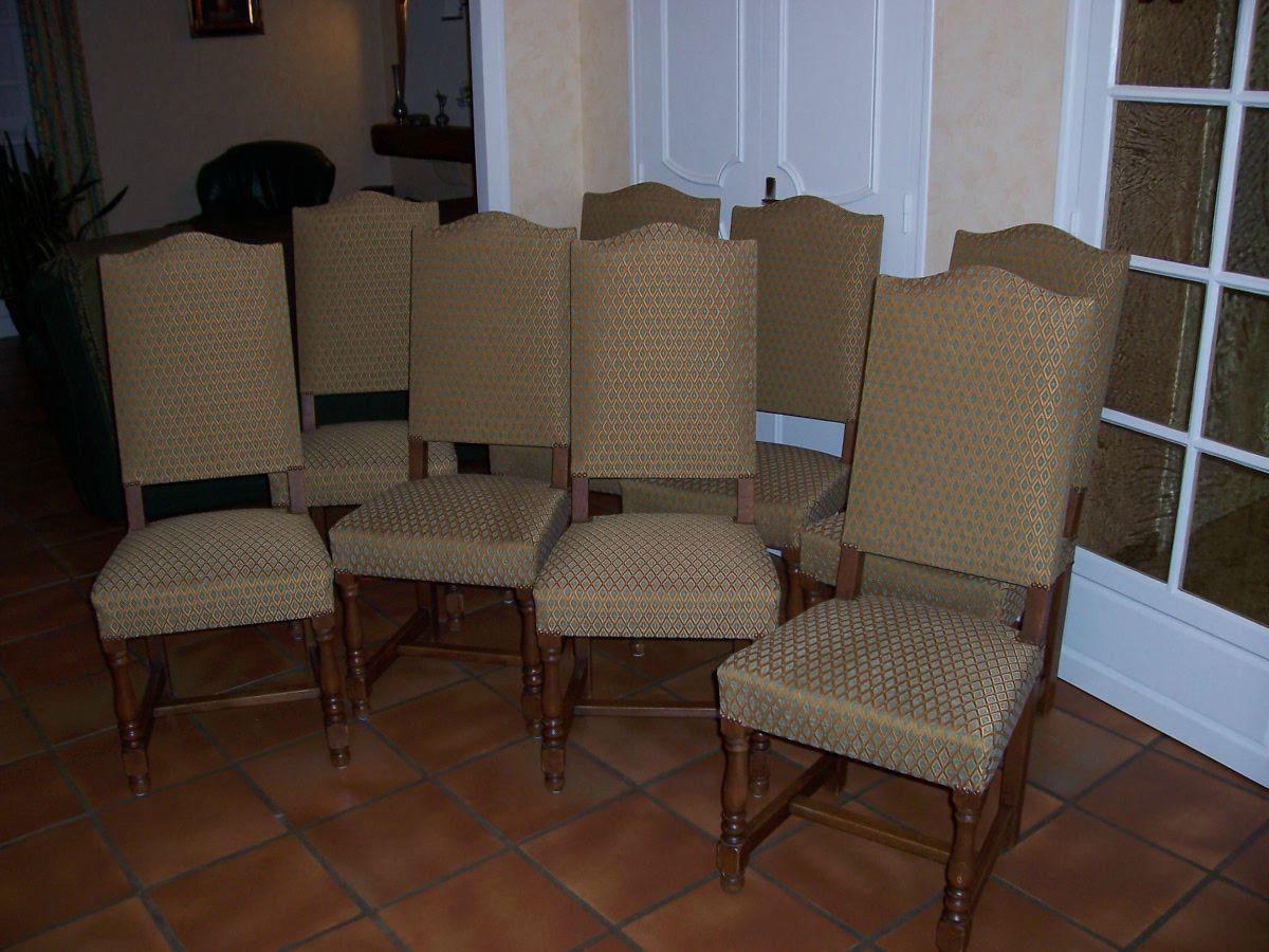 chaises louis xiii atelier st h lier lanester rennes. Black Bedroom Furniture Sets. Home Design Ideas
