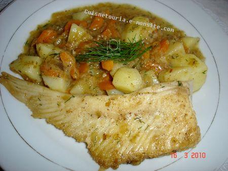 Ailes de raie la cr me la cuisine de jouhayna de a z - Cuisiner ailes de raie ...
