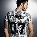 Baptiste Giabiconi pr elevenparis par Karl Lagerfeld