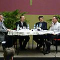 La table ronde (P.Brasme, JN Grandhomme, F. Roth)