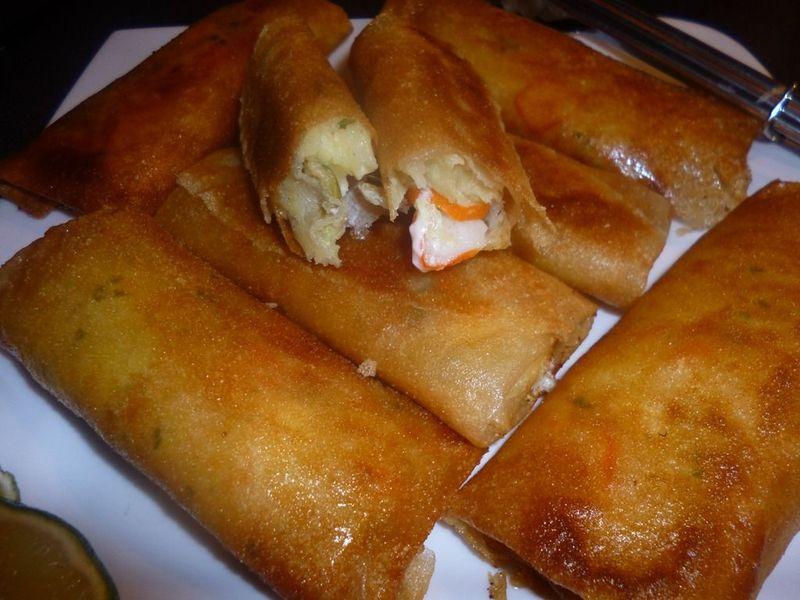 Bourek au fromage et surimi recette facile et rapide for Entree rapide facile