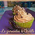 Cupcakes poire-pralinoise