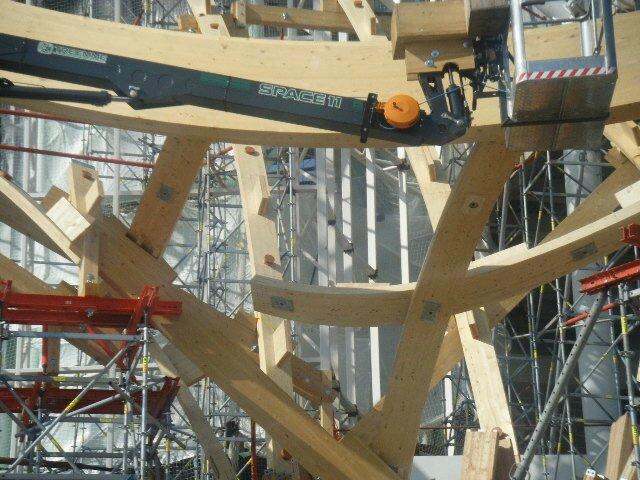 Pompidou en chantier 182