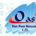 Oasis, une eau purement...