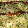 Terrine de courgettes au surimi et petits muffins pour l'apéro