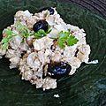 Salade d'inspiration crétoise au pois chiches