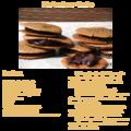 bicuits noisette-chocolat