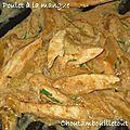 Poulet à la mangue