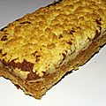 Cake à la banane croustillant de christophe michalak