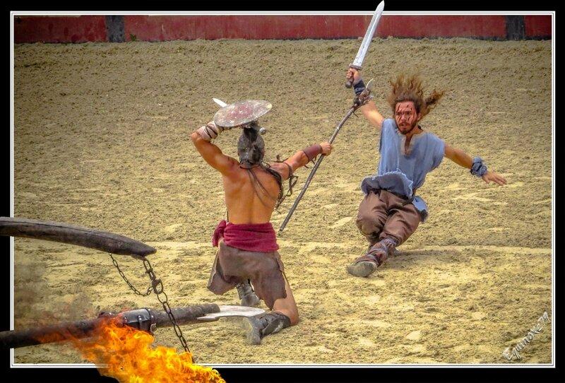 Gladiatorius, comment devenir Gladiateur (signe du triomphe puy du fou ) (20)