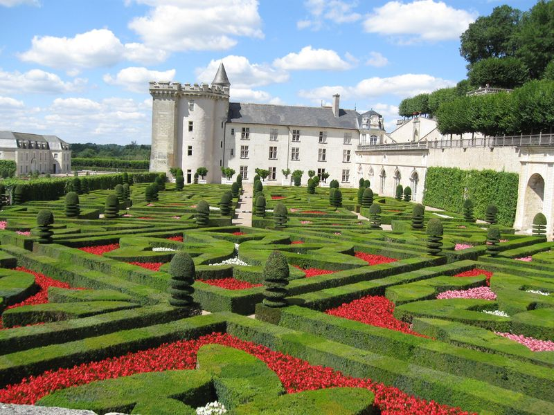 les jardins d 39 ornement photo de chateau de villandry la malle aux tresors. Black Bedroom Furniture Sets. Home Design Ideas