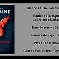 Chronique : julie kagawa - [blood of eden] - t3 - forever humaine
