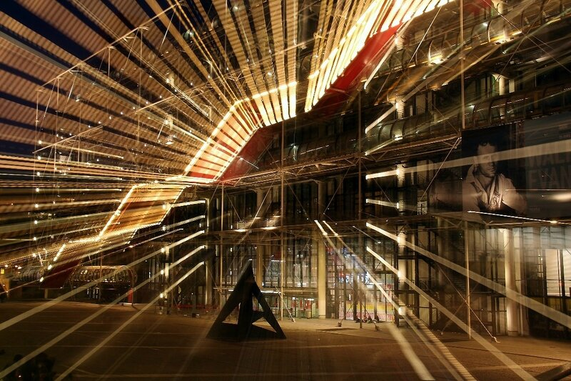 2-Beaubourg by night_1486