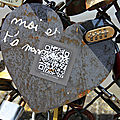 Coeur, cadenas, Pont des arts_8680