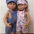 Nouvelles tenues pour les poupées wichtel