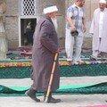 Devant la mosquée du vendredi de Boukhara