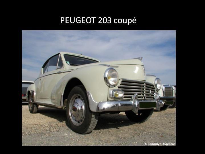 1958 - Peugeot 203 coupé