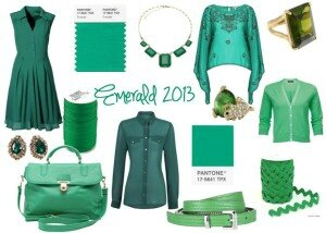 emerald-pantone-colour-of-the-year-2013-green-dress-top-bag-belt-accessories-jewellery1-300x214