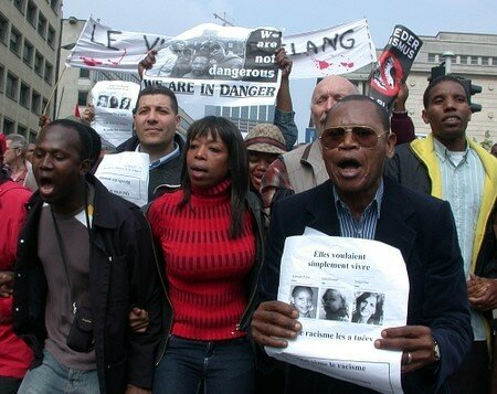 2006 - Manif Contre l'assasin raciste d'Anvers
