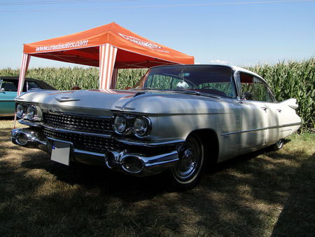 CADILLAC series 62 6window Hardtop Sedan 1959 Concentration de Vehicules Americains Ohnenheim 2011 1