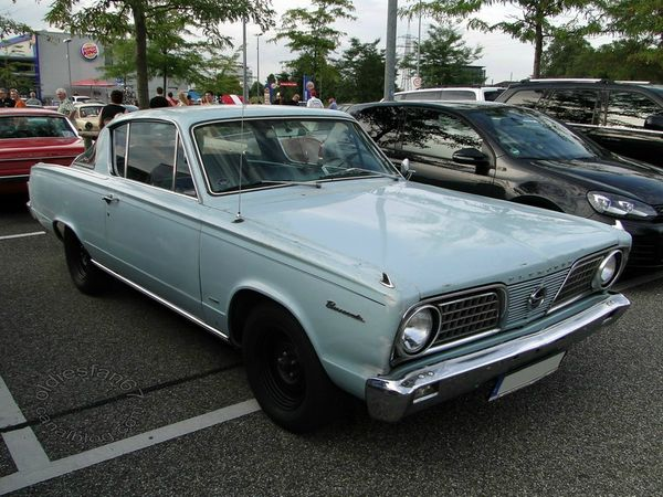 plymouth barracuda 1966 3