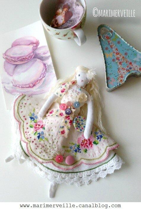 La Petite parisienne - poupée N°8 - Marimerveille