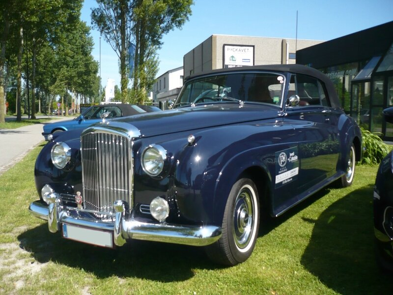 BENTLEY S1 Drophead coupé Mulliner 1955 Knokke Heist (1)